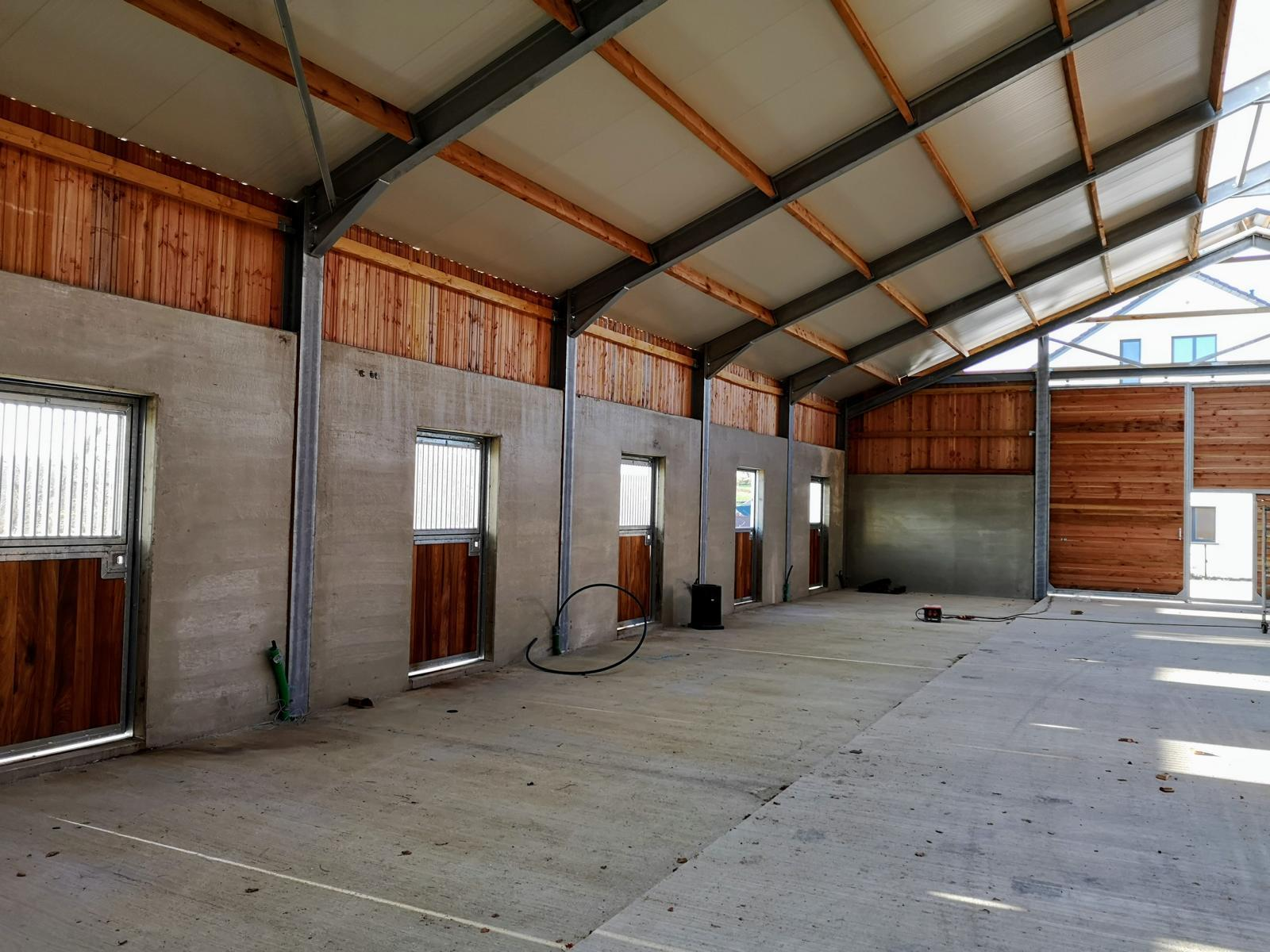 Riding Facility In Redingen Agricultural Construction