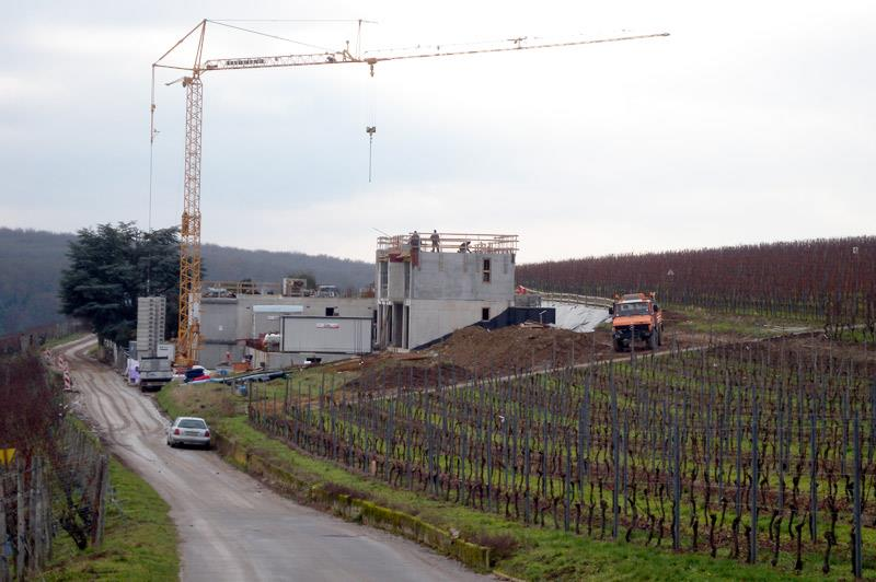 Industrial construction - Winzerei in Wormeldange