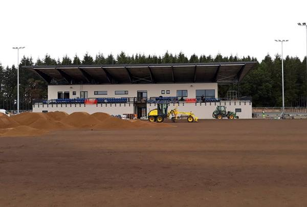 Natural grass pitch - Preparatory work