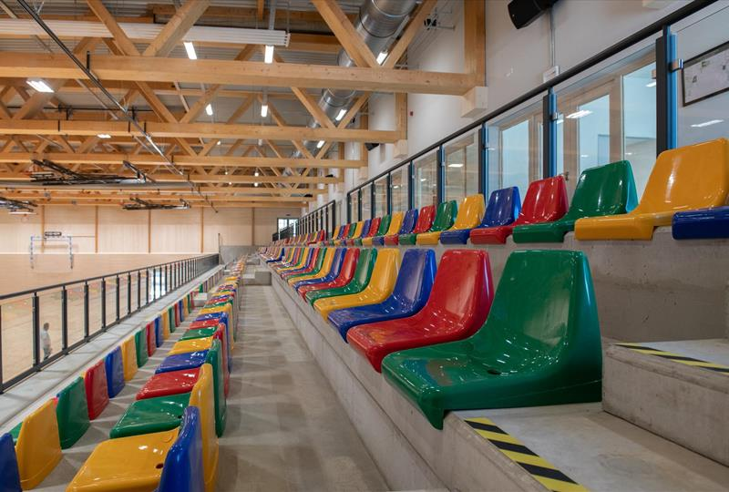 Sports hall, Niederkorn - New buildings, extensions, conversions, renovation