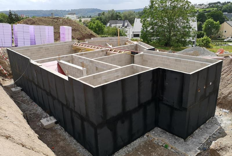 Turnkey shell construction