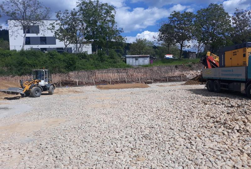 Geothermal drilling - EARTHWORKS AND OUTDOOR SPACES