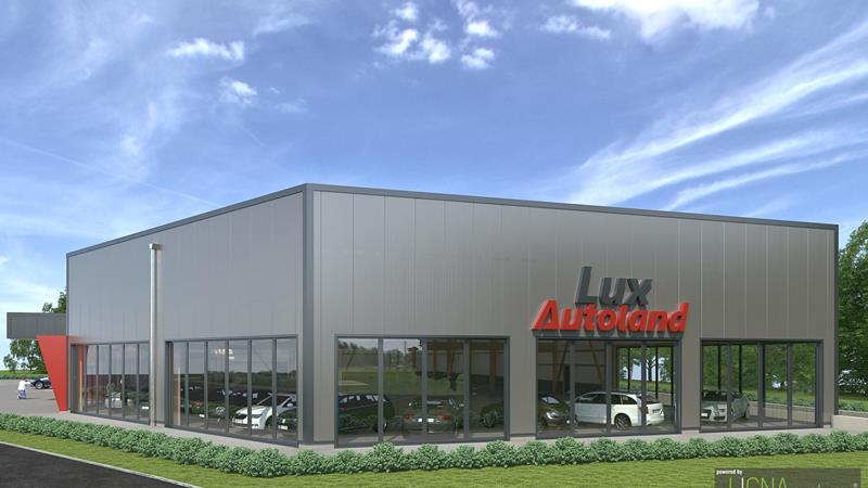 New automobile centre with spacious showroom